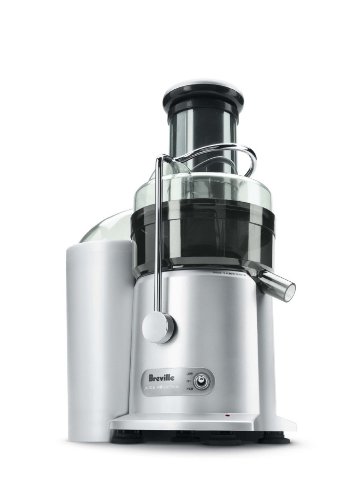 Juicer with big mouth